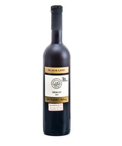 merlot black line víno akcia